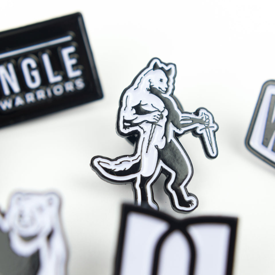 Walter The Wolf - Pin