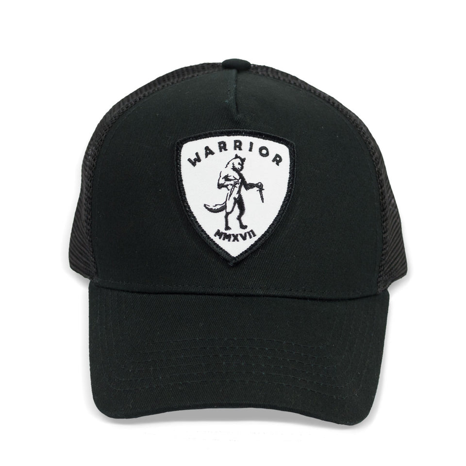 Walter The Wolf - Black Trucker Cap