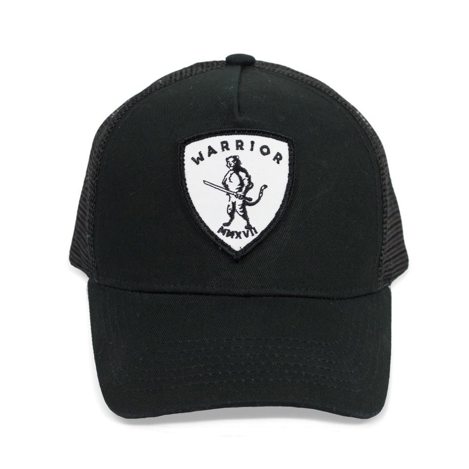Tyrell The Tiger - Black Trucker Cap