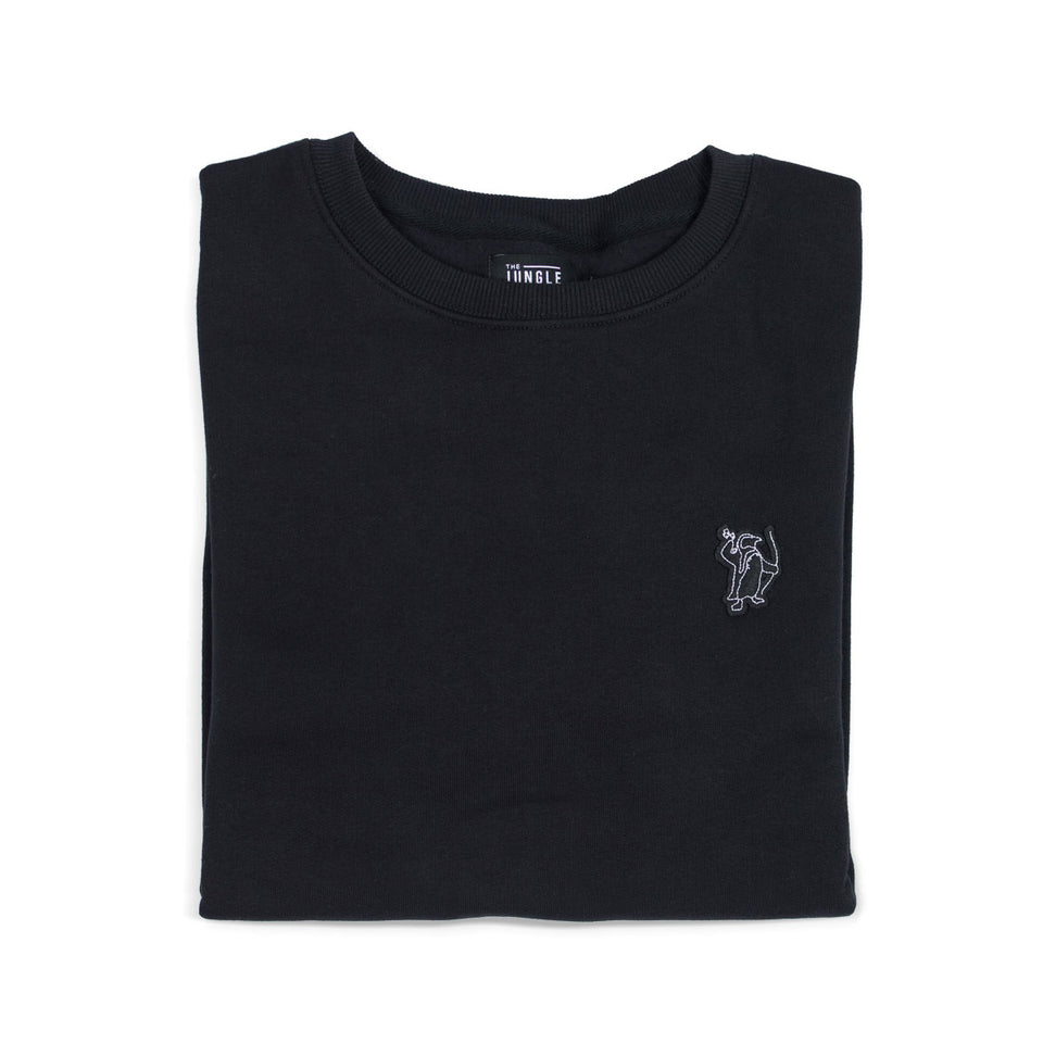 Peter The Penguin - Black Sweatshirt
