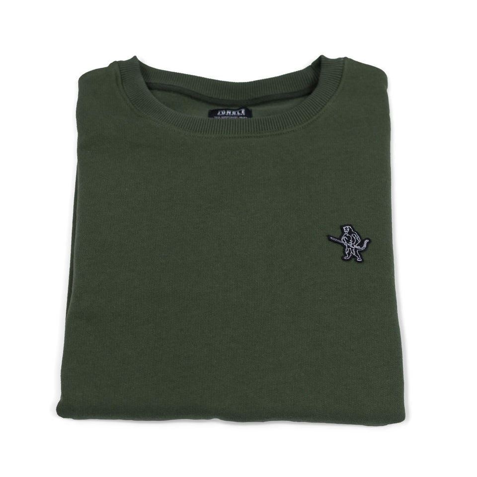 Tyrell The Tiger - Green Sweatshirt