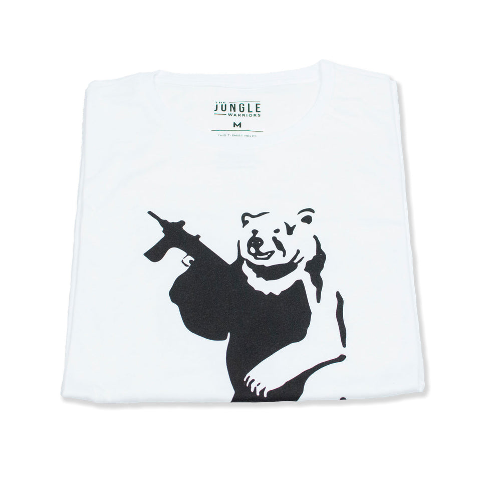 Billy The Bear - White Tee