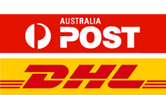 Online shopping is made easy with DHL and Australia Post