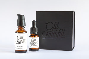 Old Faithful Mańana Shave Oil & Hammam Moisturising Serum
