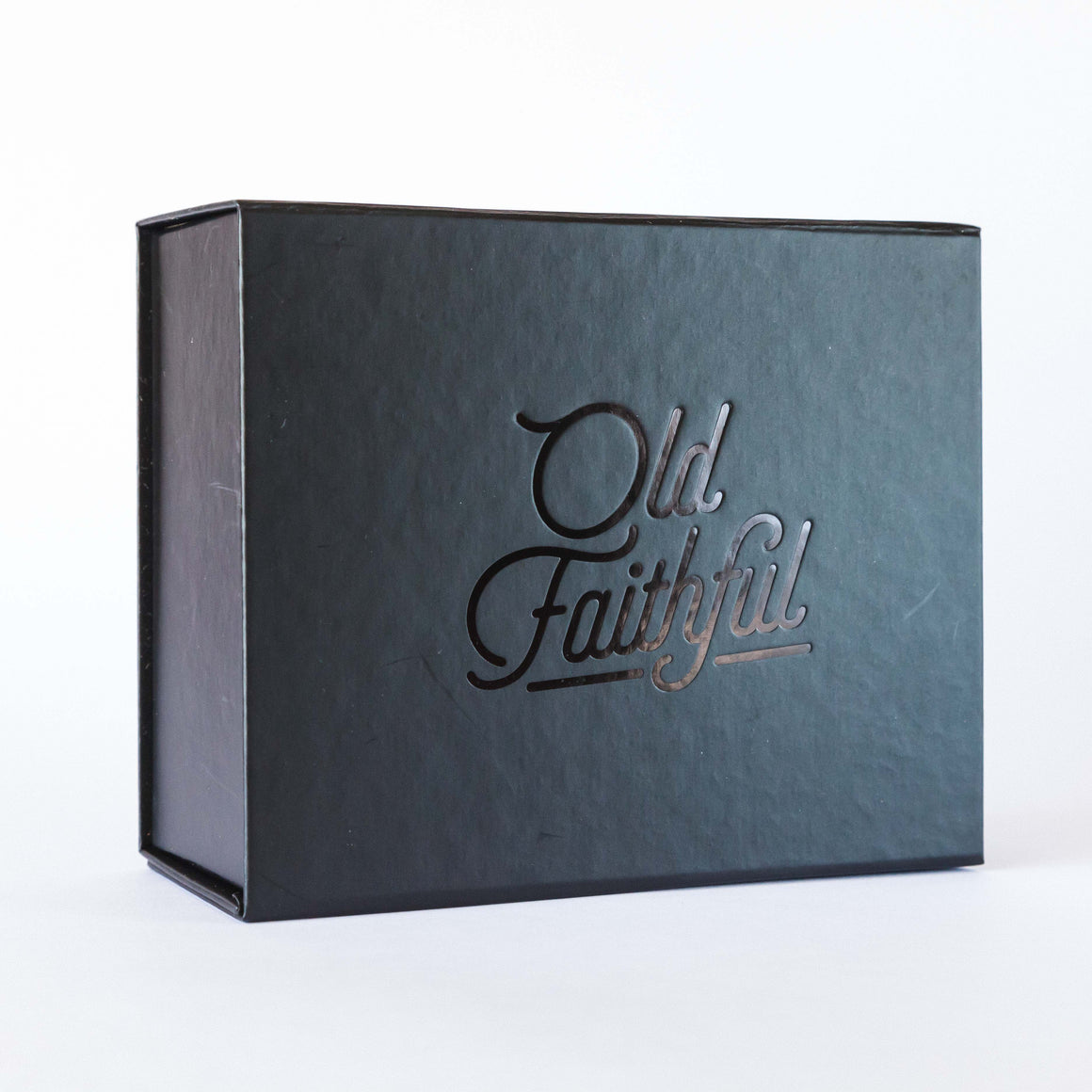 Old Faithful Black Matt Gift Box