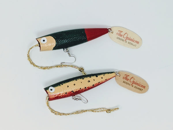 Opinicon Retro Fishing Lure Ornaments