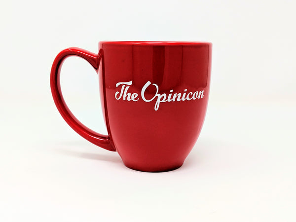 Opinicon Large Red Mug