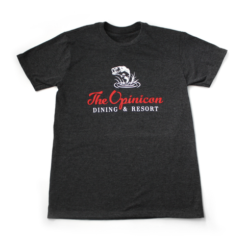 Opinicon T-shirt - Heather Grey