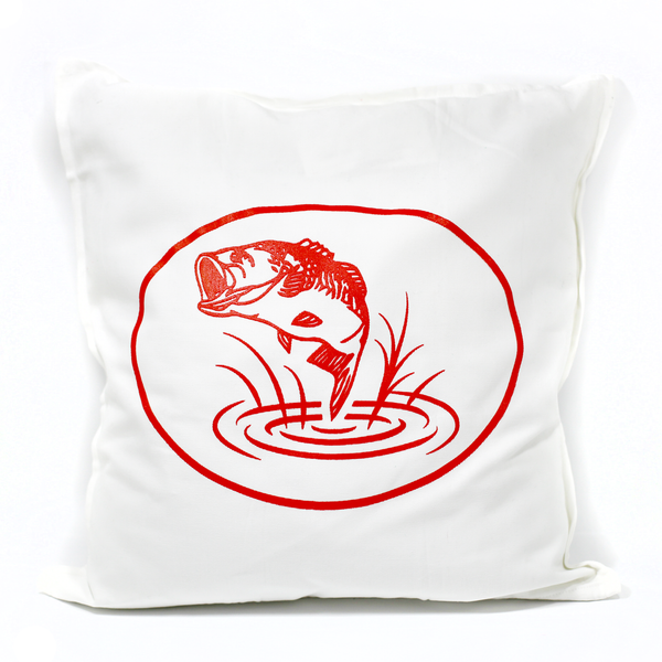Opinicon Fish Pillow