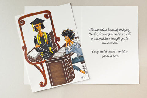 You Made It Graduation Card