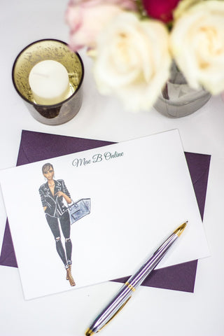 "The ""Kelly"" Personalized Stationery"