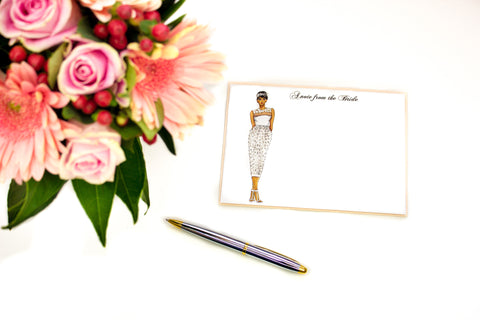 "The ""Halle"" Personalized Bridal Stationery"