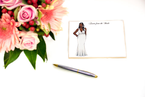 "The ""Angela"" Personalized Bridal Stationery"
