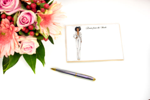 "The ""Solo"" Personalized Bridal Stationery"