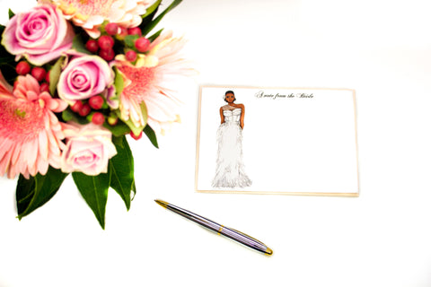 "The ""Kristen"" Personalized Bridal Stationery"
