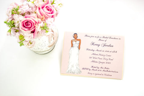 """The Kristen"" Bridal Shower Invitation"