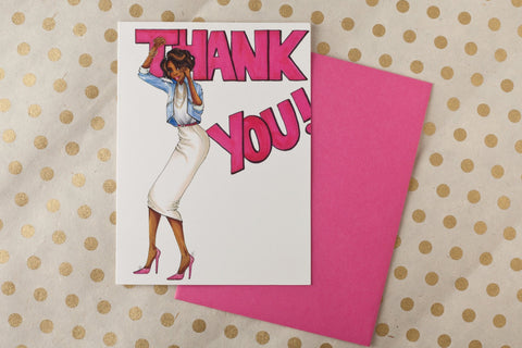 Gayle Thank You Card