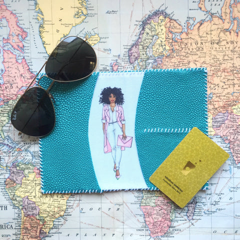 "The ""Brittany"" Passport Wallet"