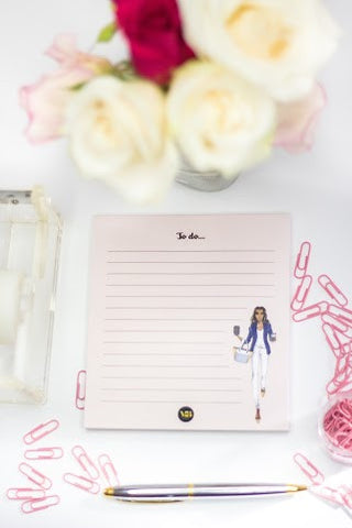 """Lina"" To Do List Notepad *Pre- Order* Ships August 1st"