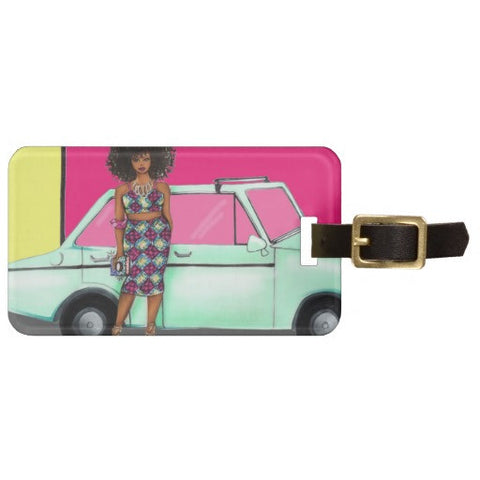 """Hello Fabulous"" Luggage Tag"