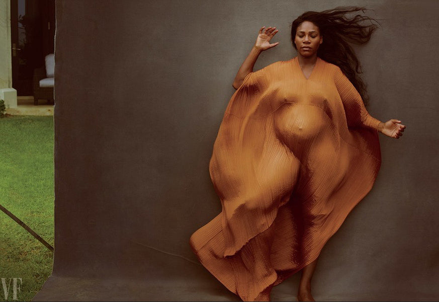 Serena Williams Bares Pregnant Belly for Vanity Fair