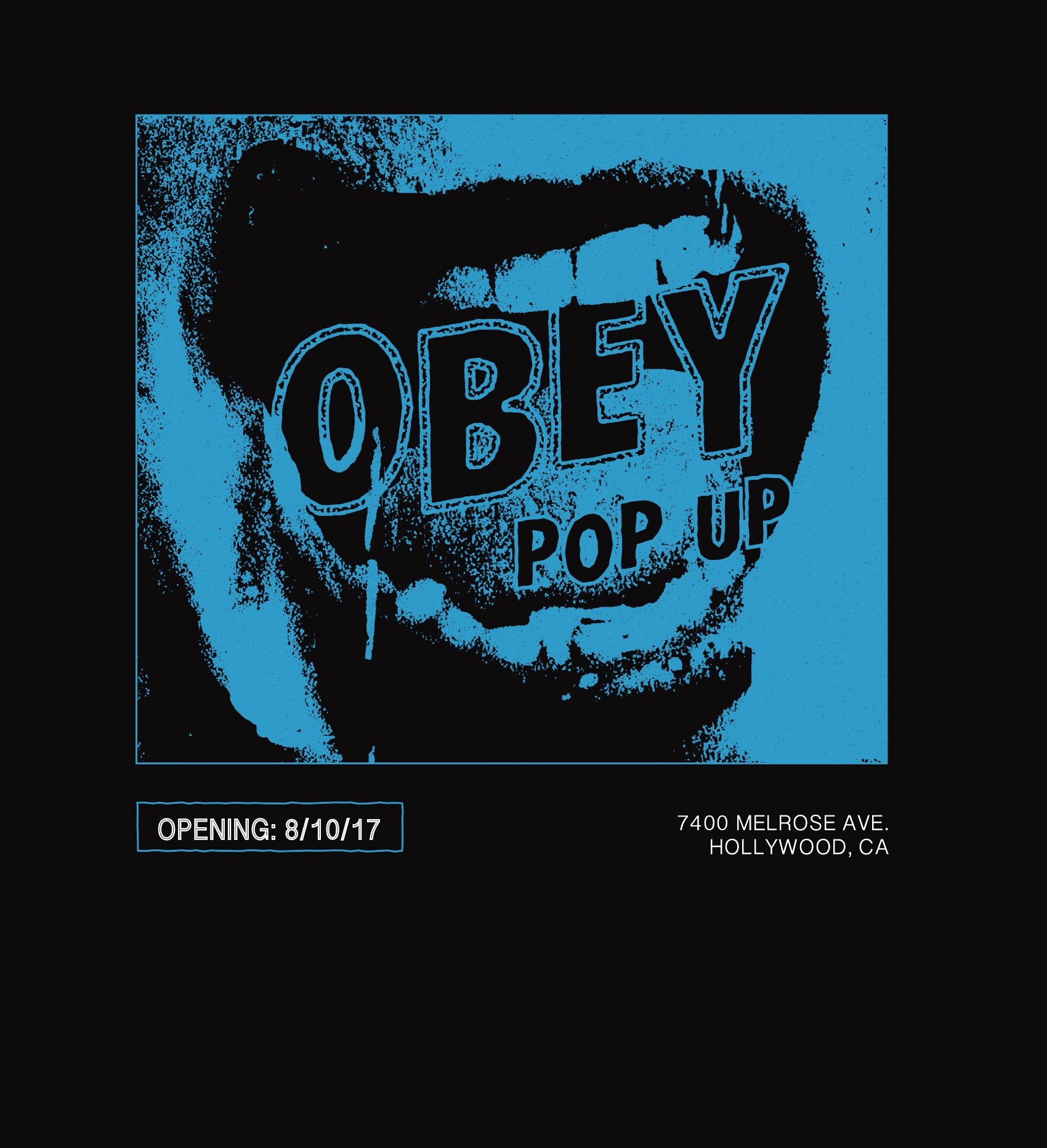 Obey Pop Up - Now Open