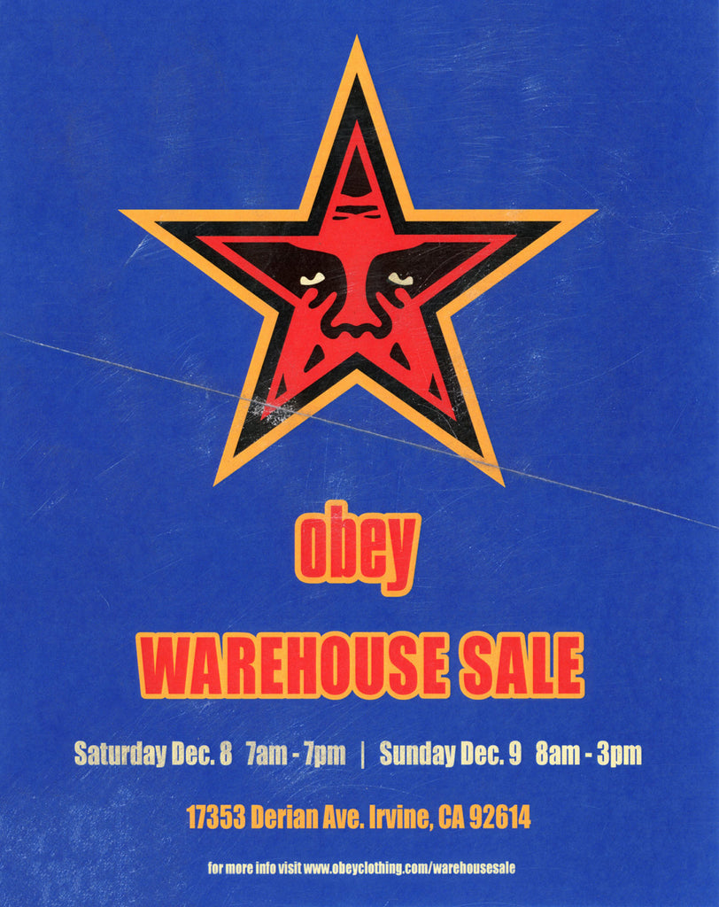Warehouse Sale 2018 F/W
