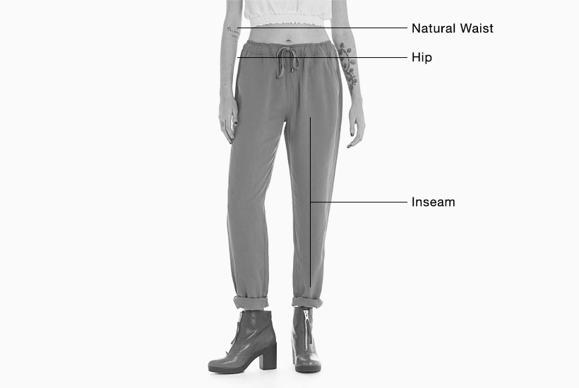 Women's Bottoms Fit Guide