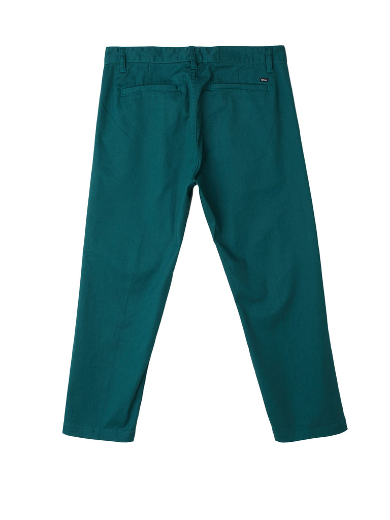 Straggler Flooded Pant Dark Teal | OBEY Clothing