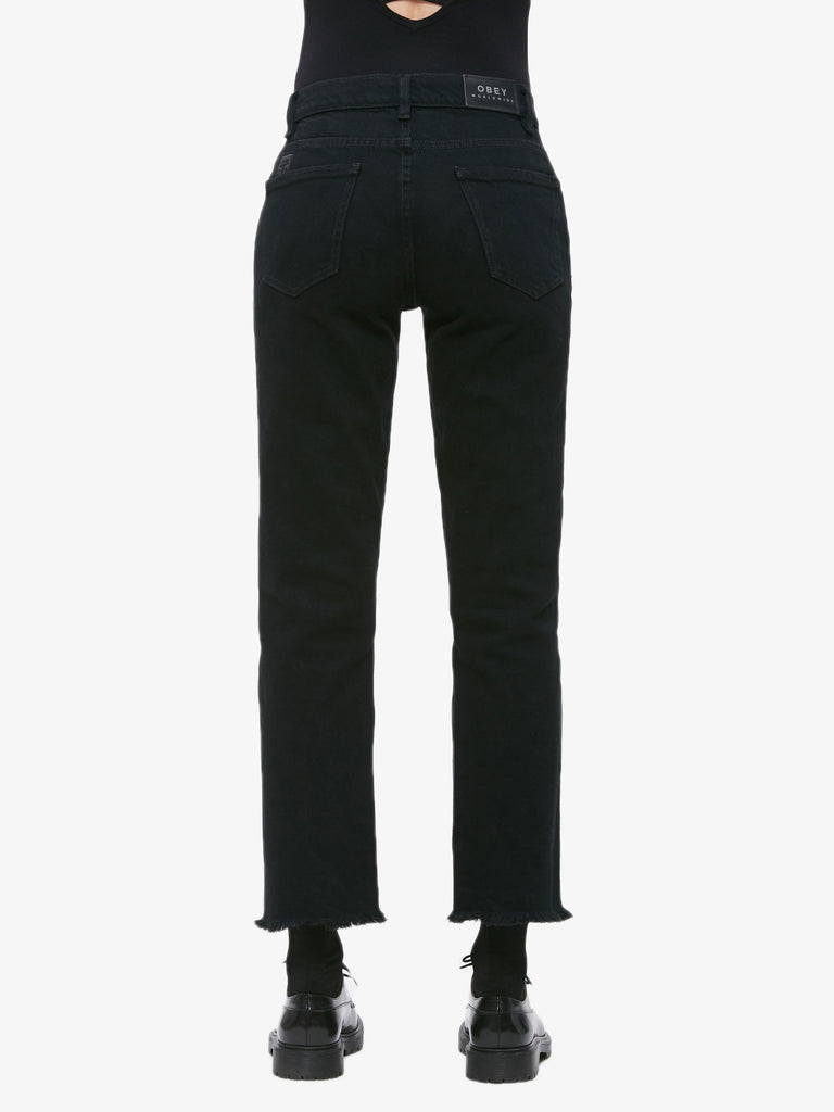 Sundays Straggler Pants Dusty Black | OBEY Clothing