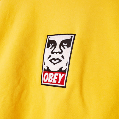 Icon Heavyweight Crewneck GOLD | OBEY Clothing