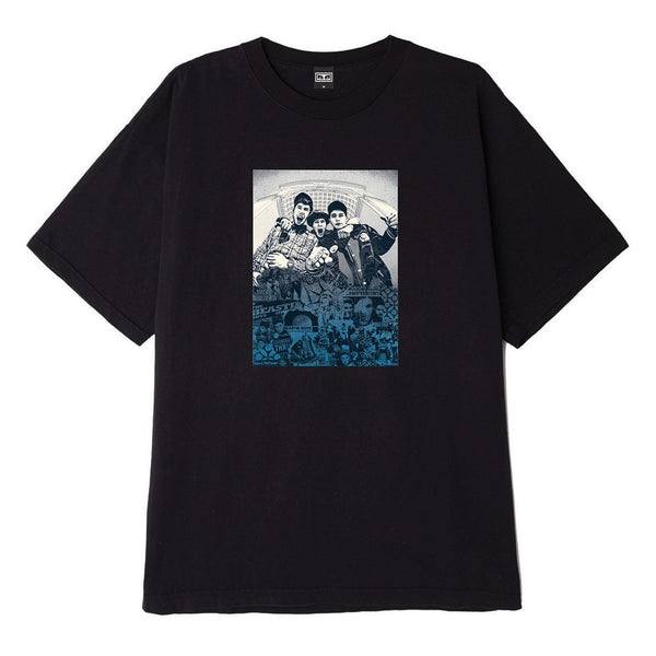 OBEY x Glen E. Friedman Beastie Boys Heavyweight Tee Black | OBEY Clothing