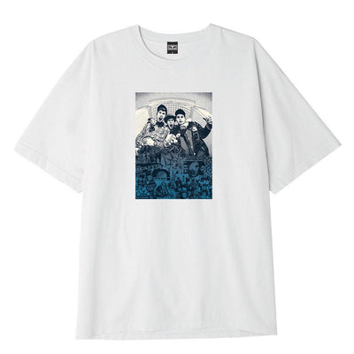 OBEY x Glen E. Friedman Beastie Boys Heavyweight Tee White | OBEY Clothing