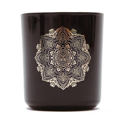 Obey Mandala Candle Sandalwood Tabac | OBEY Clothing