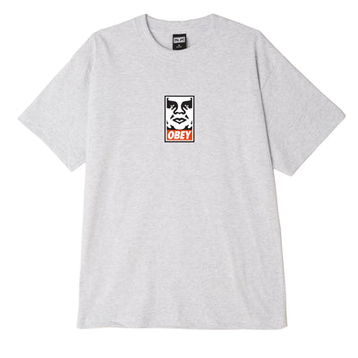 OBEY Icon Face Heavyweight Classic Box Tee | OBEY Clothing