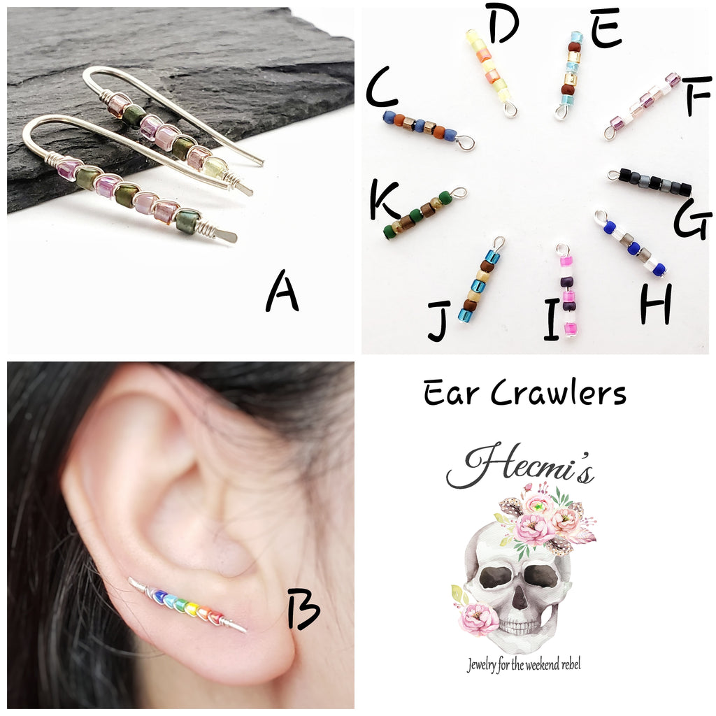 Ear Crawlers - Variety of colors available  M322