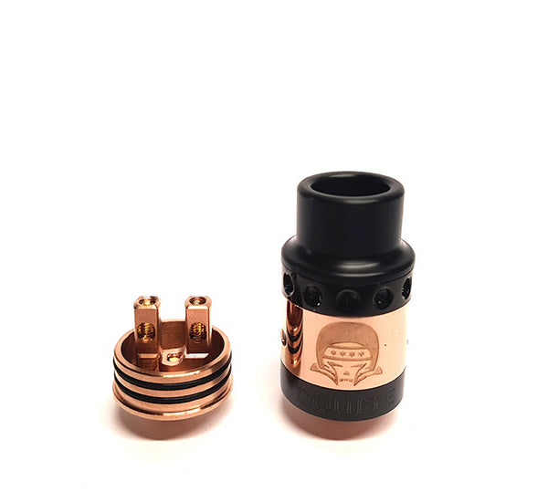 Double Vision RDA Gold / Rose Gold - CompVape