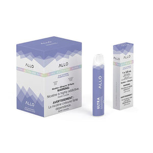 Blue Raspberry Allo Ultra Disposable by Allo Vapor Toronto GTA Vaughan Ontario Canada Wicks & Wires Vape Shoppe