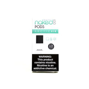Naked 100 Arctic Air Pods by Naked 100 Toronto Ontario Canada Wicks & Wires Vape Shoppe