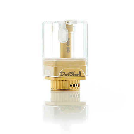DotShell Gold RTA  by Atmizoo of Atmizone Toronto GTA Vaughan Ontario Canada Wicks & Wires Vape Shoppe