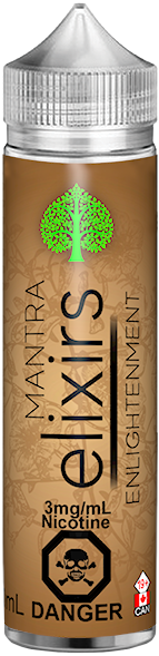 Enlightenment by Mantra Elixirs Toronto GTA Vaughan Ontario Canada | Wicks & Wires Vape Shoppe