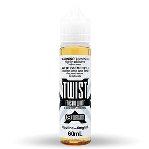 Frosted White by Twist E-Liquids Toronto GTA Vaughan Ontario Canada Wicks & Wires Vape Shoppe