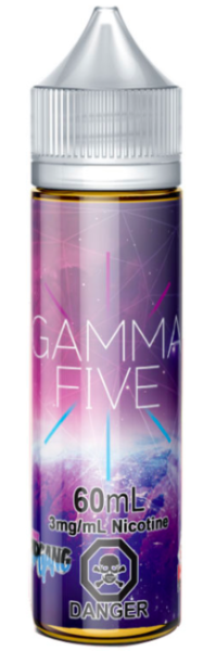Gamma Five by CloudFire Toronto Ontario Canada Wicks & Wires Vape Shoppe