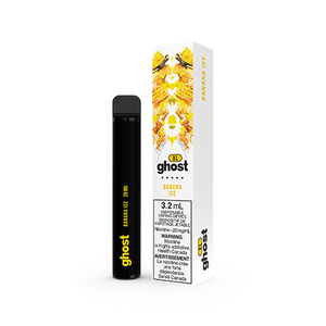 Banana Ice by Ghost XL Toronto GTA Vaughan Ontario Canada Wicks & Wires Vape Shoppe