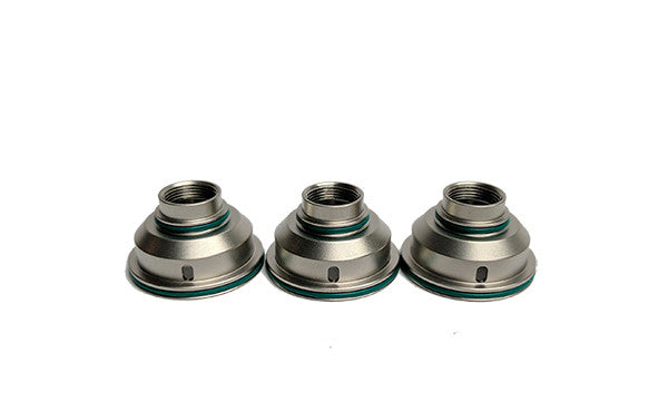 Stainless Steel Inner Cap (Small Hole) for DDP One RTA by DDP Vape Toronto Ontario Canada Wicks & Wires Vape Shoppe