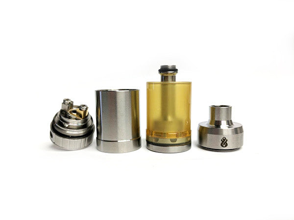 Hussar RTA Ultem Edition Single Coil Deck by Hussar Vapes Toronto Ontario Canada Wicks & Wires Vape Shoppe