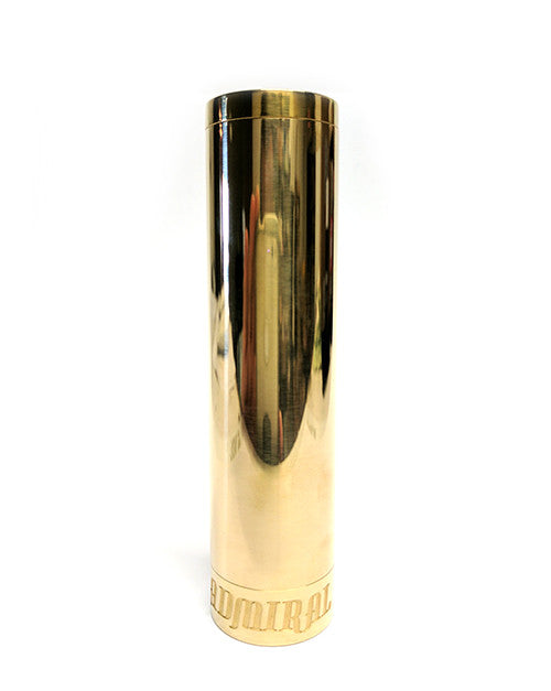 Admiral 20700/18650 Mech Mod by Broadside Mods Toronto Ontario Canada Wicks & Wires Vape Shoppe