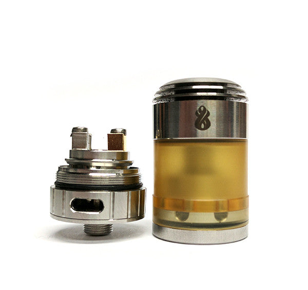 Hussar Torpedo Micro LE (Limited Edition) RTA by Hussar Vapes Toronto Ontario Canada Wicks & Wires Vape Shoppe