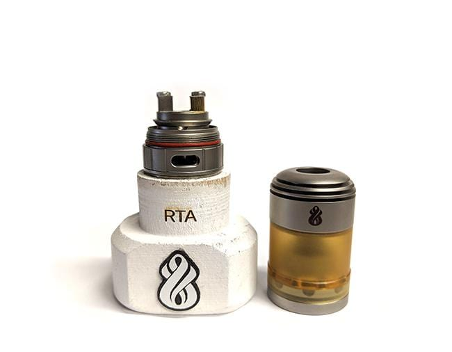 Hussar Torpedo Micro LE Satin RTA by Hussar Vapes Toronto Ontario Canada Wicks & Wires Vape Shoppe