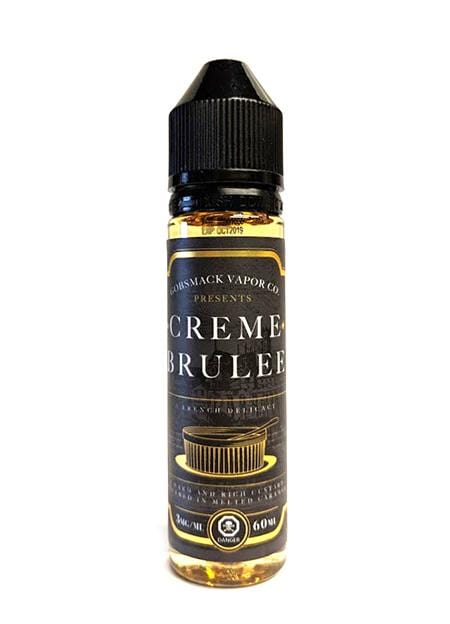 Creme Brulee by Gobsmack Vapor Co. Toronto Ontario Canada Wicks & Wires Vape Shoppe